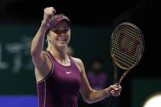 Свитолина пробилась на Итоговый турнир WTA
