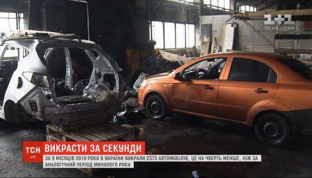 В Украине уменьшилось количество краж автомобилей - полиция