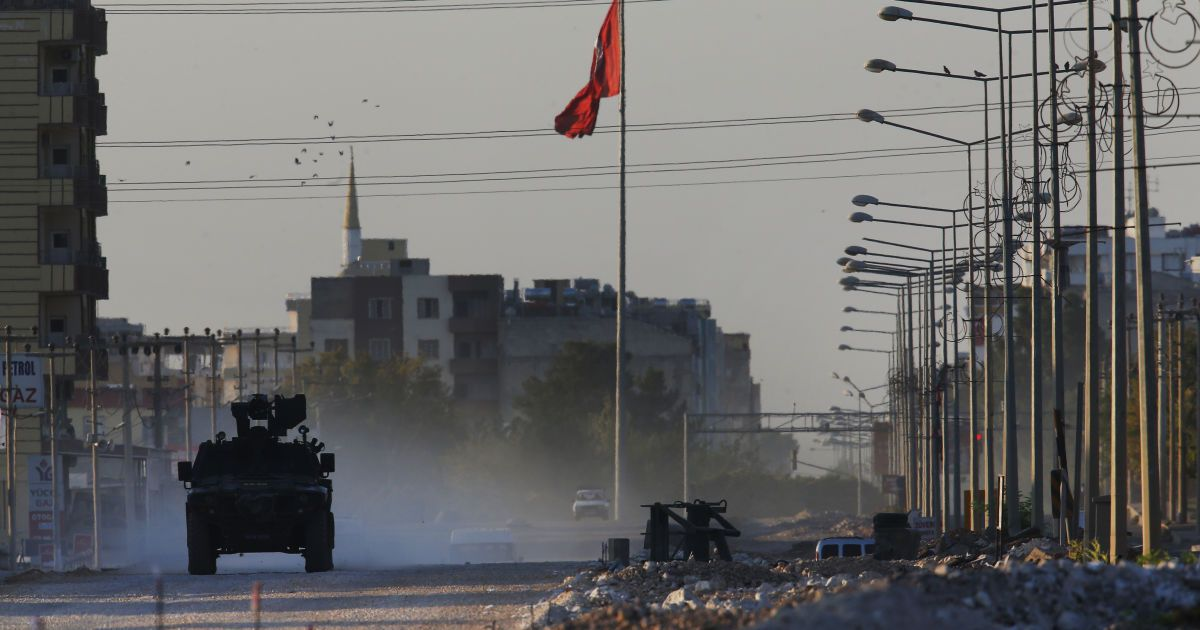 Турки обстреляли американскую базу