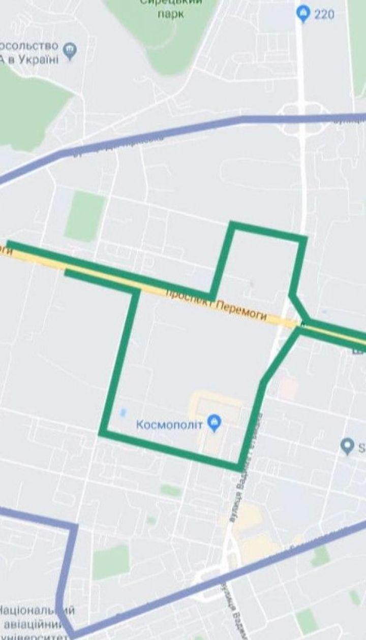 Из-за ремонта Шулявского моста перекроют движение по столичному проспекту Победы