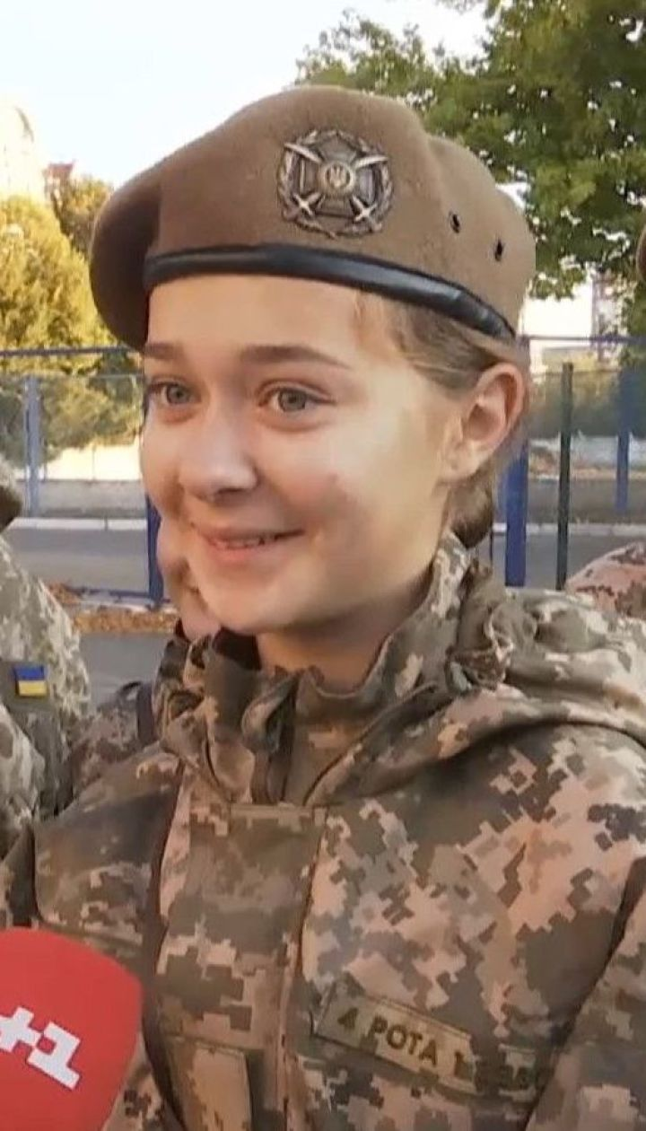 Первокурсники Киевского военного лицея имени Богуна торжественно поклялись на верность Родине