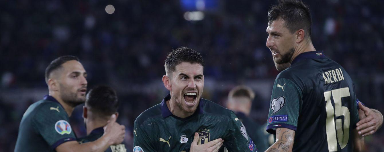 Італія перемогла Грецію та вийшла на Євро-2020