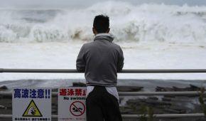 В Японии ожидают оползни и наводнения из-за двух новых тайфунов
