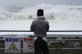 Жертвами тайфуна в Японии стало двое людей, 7 миллионов человек вынуждены эвакуироваться