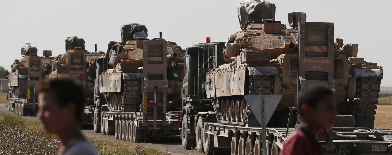 Німеччина припинить експорт озброєнь до Туреччини через її наступ у Сирії