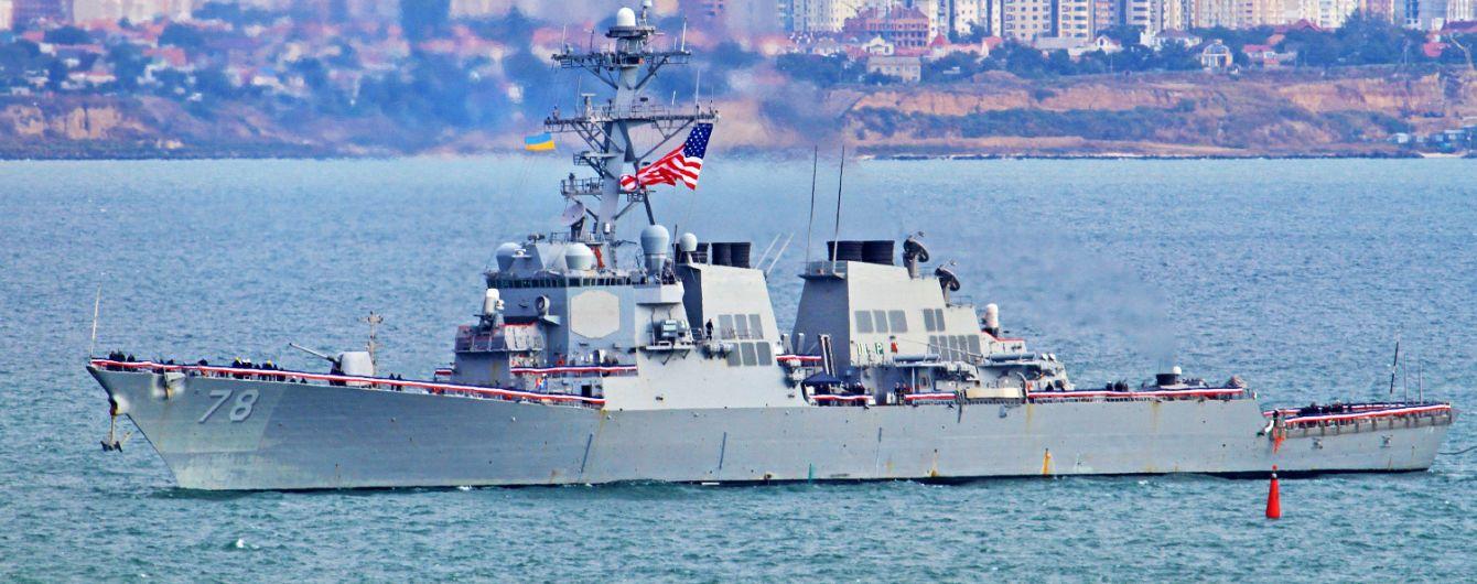 В Черное море зашел эсминец ВМС США