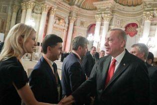 """Ердоган вперше прийняв делегацію РФ з кримськими """"депутатами"""""""