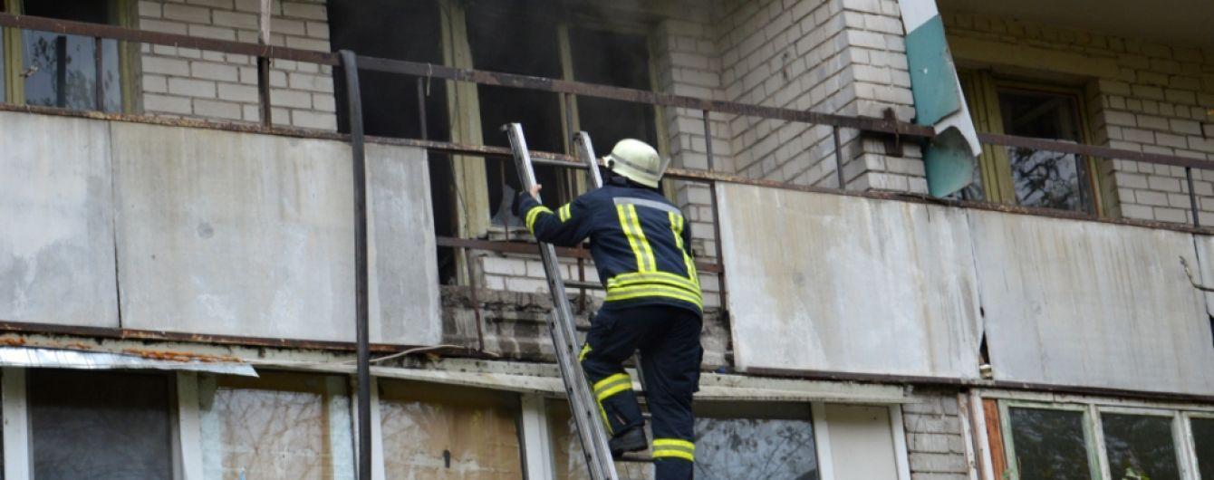 В Киеве произошел взрыв в мусоропроводе многоэтажки