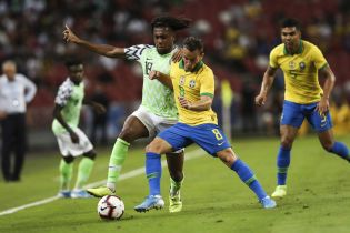 Сборная Бразилии не сумела одолеть Нигерию в товарищеском матче