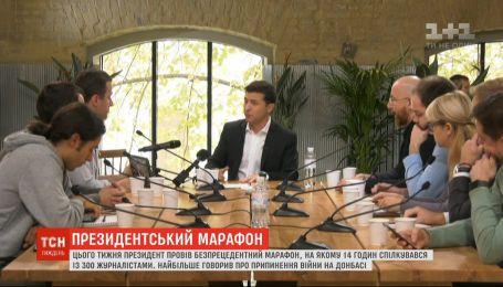 Беспрецедентный пресс-марафон Зеленского: что стало основной темой диалога с прессой