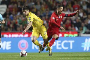 Букмекеры назвали фаворита в сверхважном матче отбора к Евро-2020 между Украиной и Португалией