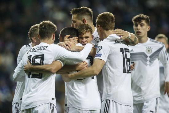 Збірна Німеччини вдесятьох розгромила Естонію у відборі до Євро-2020