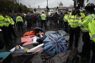 В Лондоне во время митинга против изменений климата арестовали принцессу Бельгии. Ее держали под стражей почти пять часов