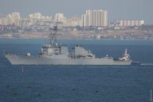 """Американский эсминец с установками для """"Томагавков"""" зашел в порт Одессы"""