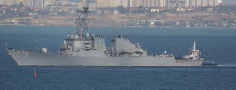 """Американський есмінець з установками для """"Томагавків"""" зайшов до порту Одеси"""