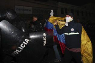 Власти Эквадора согласилась на требования протестующих