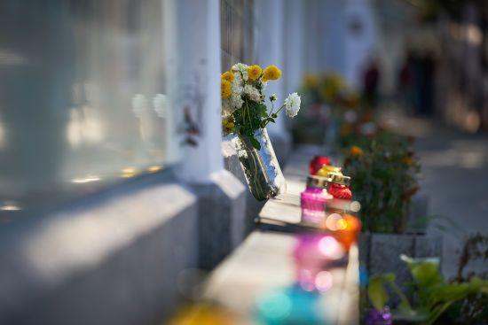 У великих містах України вшанували героїв на честь свята