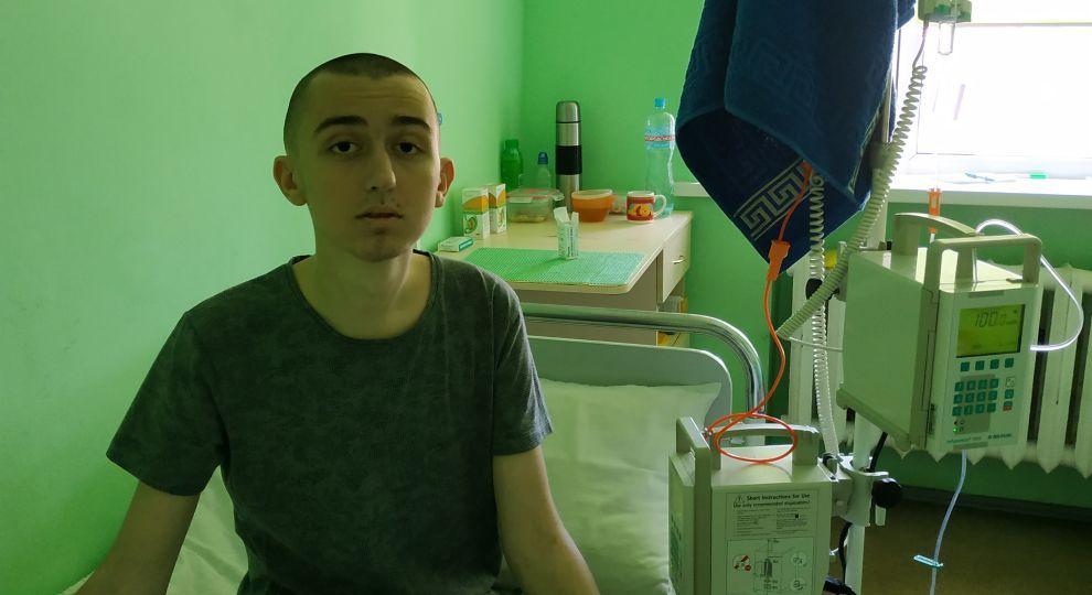 Лише дорога трансплантація кісткового мозку можу врятувати життя Василя