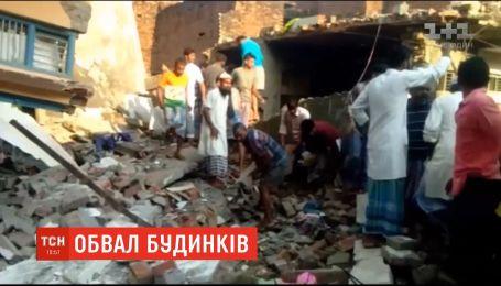 12 человек погибли в результате обвала домов на севере Индии