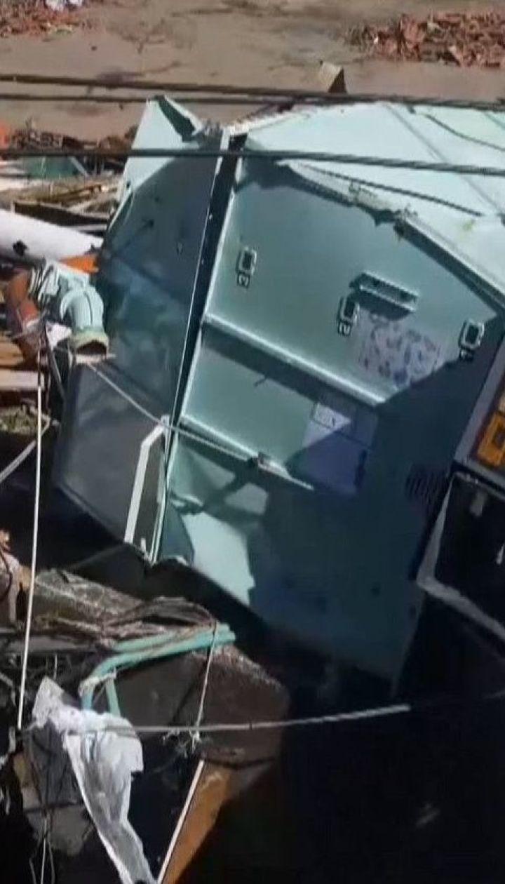 """По меньшей мере 40 жизней унес тайфун """"Хагибис"""", который бушует в Японии"""