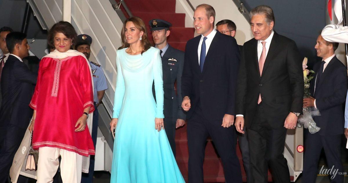 Образ продуманий до дрібниць: герцогиня Кембриджська з чоловіком прибула до Пакистану