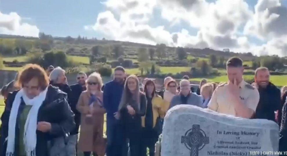 Пранк від мерця: Ірландець змусив на власних похоронах сміятись всіх присутніх