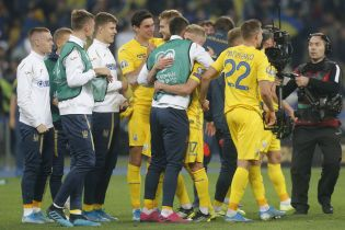Сборная Украины впервые в истории напрямую квалифицировалась на Чемпионат Европы по спортивному принципу
