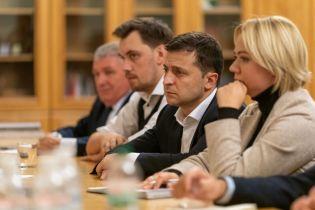 Зеленский встретился с родными погибших на Донбассе и пообещал урегулировать спорные вопросы