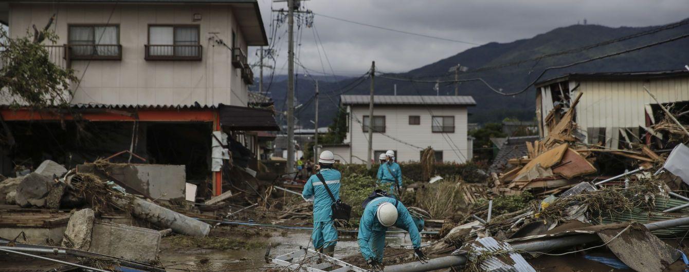 Смертоносный тайфун в Японии унес уже почти семь десятков жизней