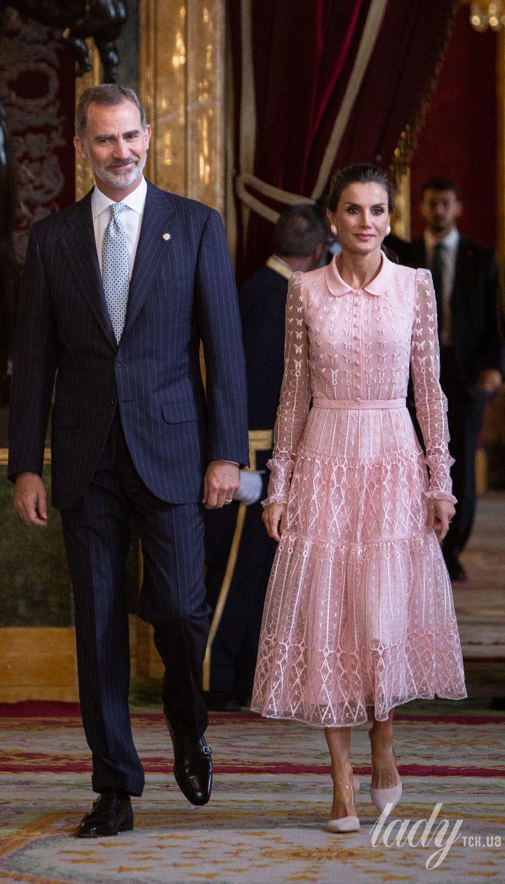 Королева Летиция и король Филипп VI