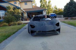 В Сети показали рабочее Lamborghini, которое напечатали на 3D-принтере