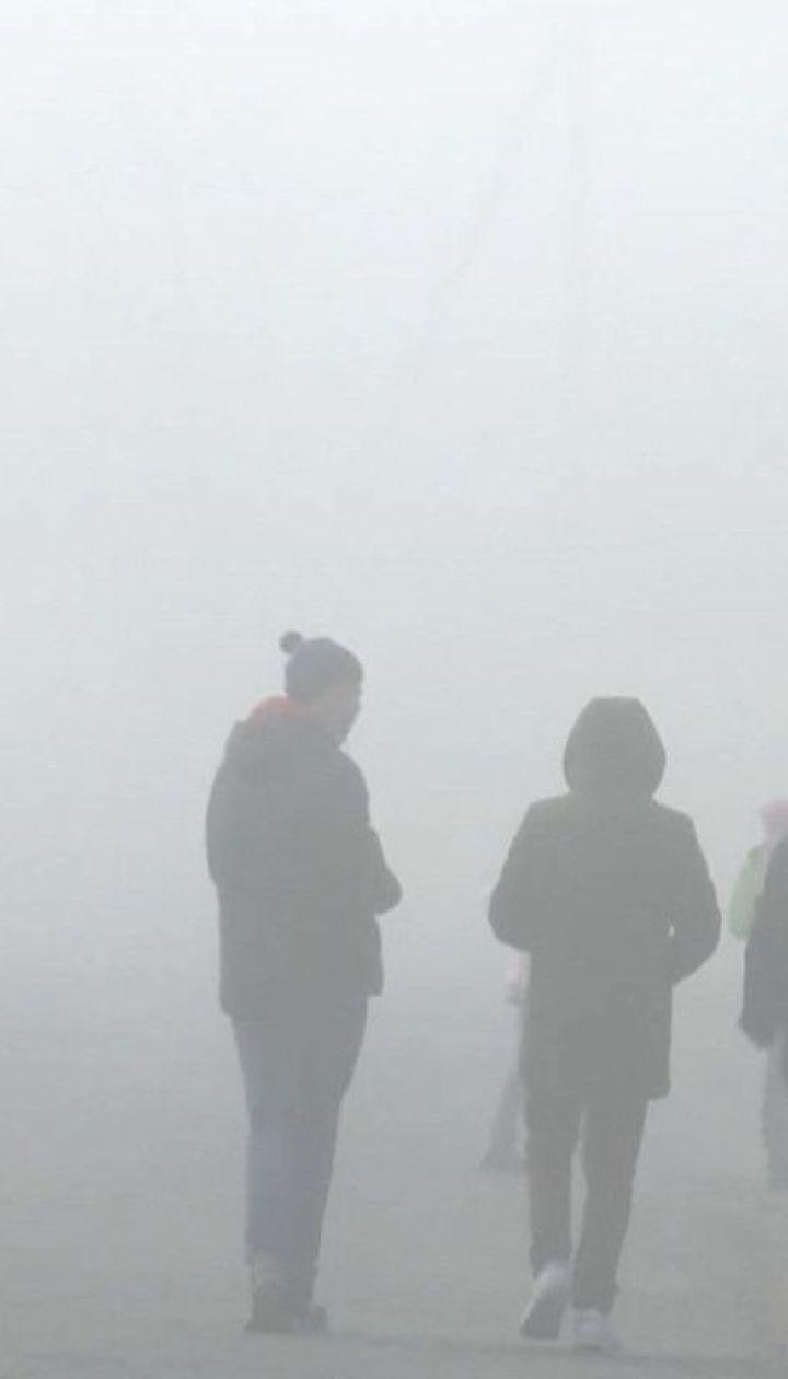 Гідрометцентр попереджає про щільний туман вночі та вранці
