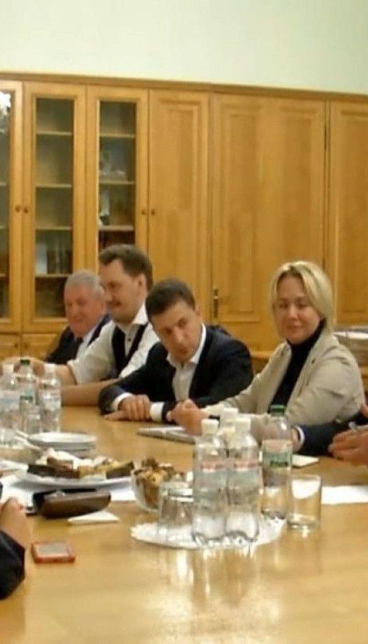 Президент України провів зустріч із родинами загиблих бійців: про що говорили