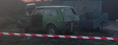 На Сумщині в автомобілі вибухнула граната, загинув чоловік