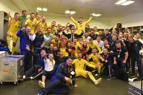 Україна покращила позиції у рейтингу найкращих збірних команд планети