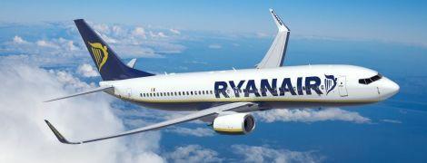 В 2020 году Ryanair планирует открыть почти два десятка новых авиарейсов из Украины