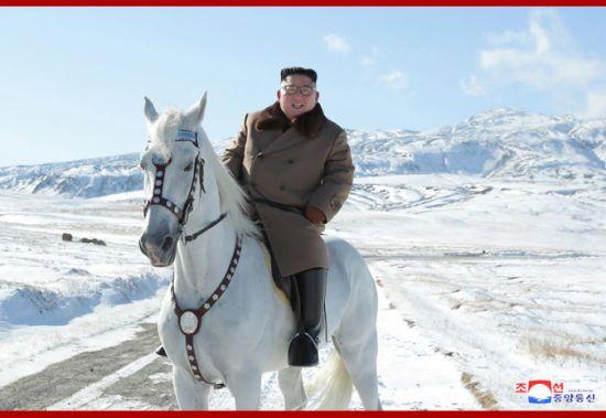 """Північнокорейський """"принц"""" Кім Чен Ин на білому коні піднявся на гору: опубліковано фото"""