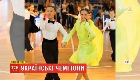 11-летние танцоры с Киева заняли первое место на фестивале бальных танцев в Великобритании