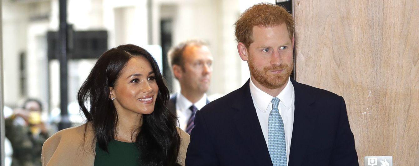 Принц Гарри и Меган в облегающем платье стали гостями церемонии WellChild Awards