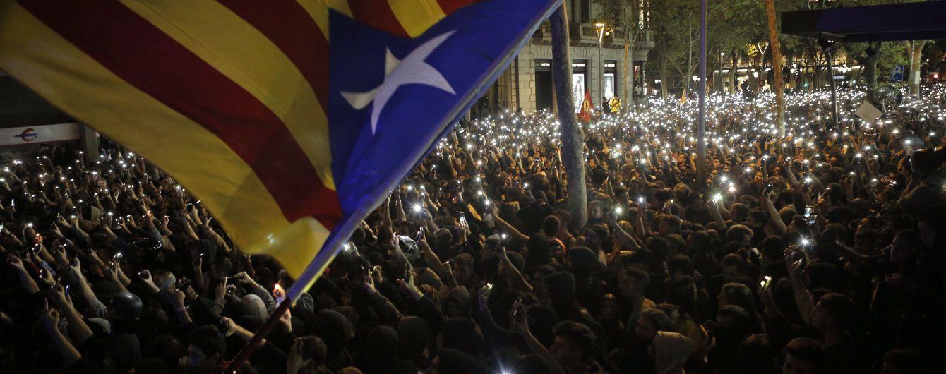 Президент Каталонії закликав офіційний Мадрид до переговорів на тлі небачених протестів