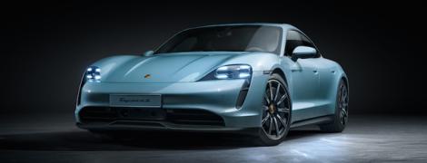 Появилась украинская цена базового Porsche Taycan