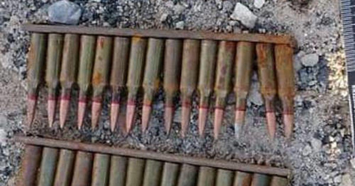 СБУ обнаружила в Луганской области два арсенала оружия боевиков