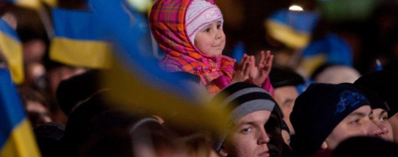 Віче на Майдані та більше тисячі нацгвардійців у Києві: столиця завершує святкування Дня Гідності та Свободи