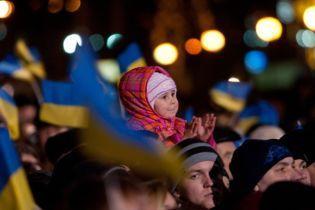 Вече на Майдане и больше тысячи нацгвардейцев в Киеве: столица завершает празднование Дня Достоинства и Свободы