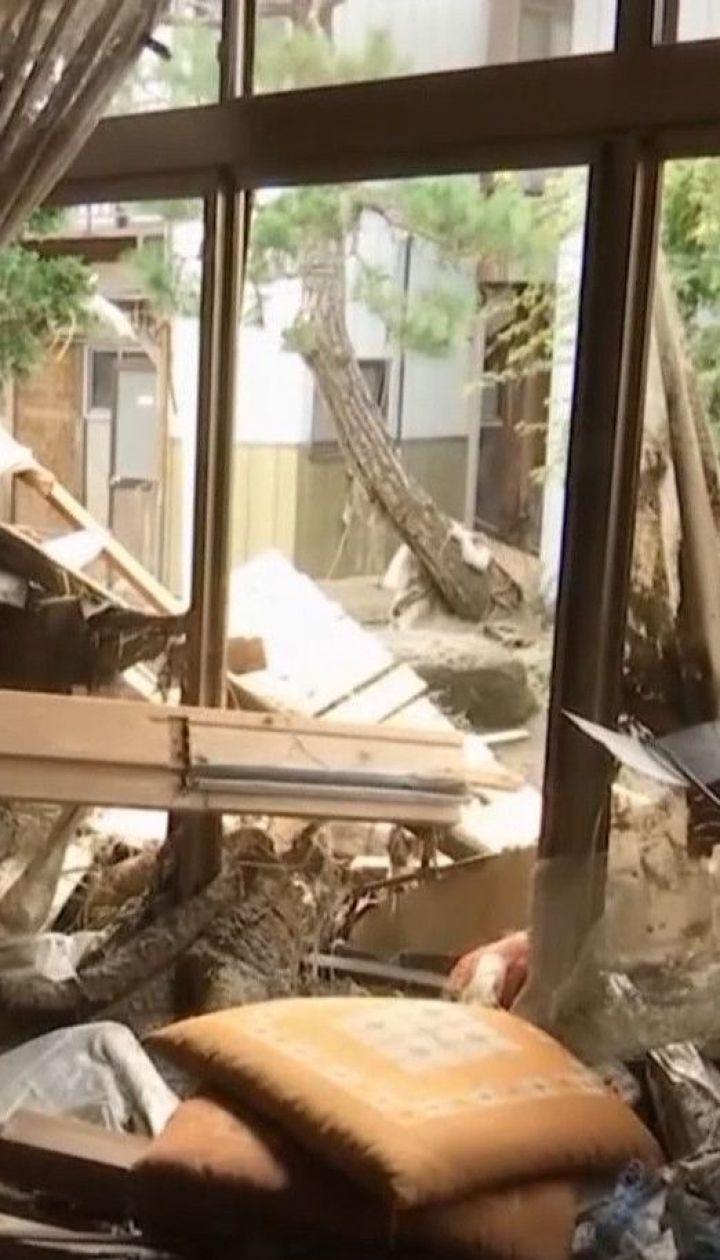 """Японські рятувальники цілодобово працюють, аби ліквідувати наслідки тайфуну """"Хаґібіс"""""""