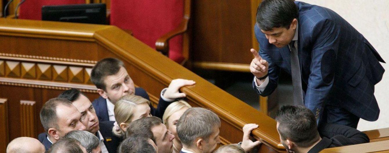 Законопроект о референдуме зарегистрируют в ближайшее время - Разумков