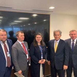 Украинская делегация провела в США первые переговоры относительно новой программы с МВФ