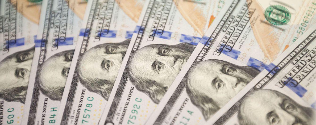 Долар уперше за чотири роки впав нижче 24 гривень. Курси валют Нацбанку на 27 листопада