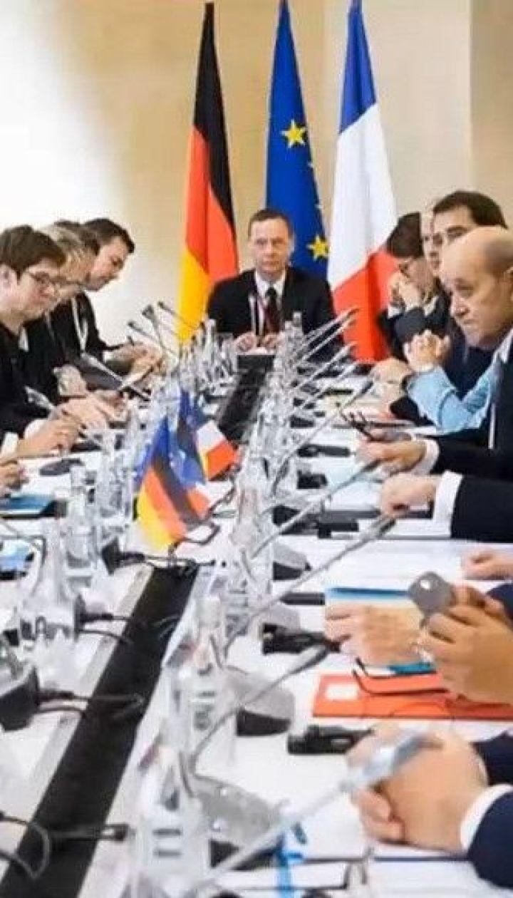Меркель та Макрон привітали прогрес у Мінських перемовинах