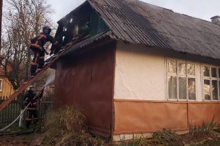 Вблизи Ивано-Франковска произошел пожар на территории школы
